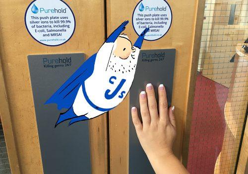 PureHold Push Door